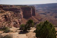 Il canyon di Shafer trascura il G fotografia stock libera da diritti