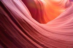 Il canyon più basso dell'antilope nella prenotazione navajo vicino alla pagina, Arizona U.S.A. Fotografia Stock