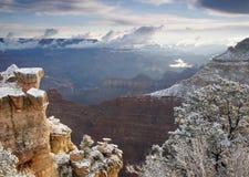Il canyon vuoto trascura Fotografia Stock