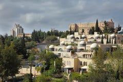 Il capitale dell'Israele - Gerusalemme immagini stock libere da diritti