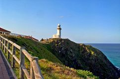 Il capo Byron Lighthouse fotografia stock