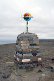 Il capo del nord famoso in Norvegia Fotografie Stock