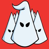 Il capo di Ku Klux Klan Illustrazione del fumetto di vettore 17 agosto 2017 royalty illustrazione gratis