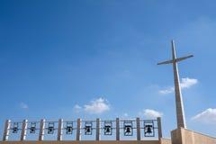 Il cappellano Pio Shrine al delle Grazie di Santa Maria in San Giovanni Rotondo, Italia ha progettato da Renzo Piano La foto most fotografie stock libere da diritti