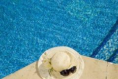 Il cappello di paglia Fotografia Stock