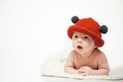 Il cappello rosso Fotografia Stock Libera da Diritti