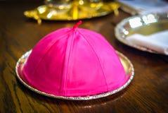 Il cappuccio del vescovo Fotografie Stock