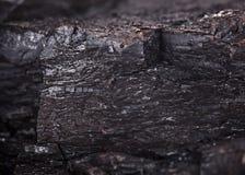 Il carbone ammassa il modello Fotografia Stock