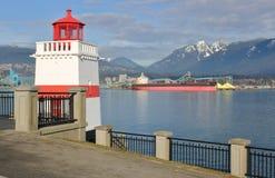 Il cargo alla rinfusa di Maera attraccato a Vancouver Fotografia Stock Libera da Diritti