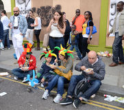 Il carnevale 2011 del Notting Hill il 28 agosto 2011 Fotografie Stock Libere da Diritti