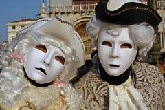 Il carnevale di Venezia Fotografie Stock Libere da Diritti