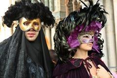 Il carnevale di Venezia Immagini Stock Libere da Diritti