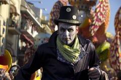 Il carnevale di Viareggio Fotografie Stock