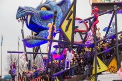 Il carnevale 2016 di Viareggio Fotografia Stock