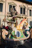Il carnevale di Viareggio, edizione 2019 immagine stock