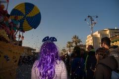 Il carnevale di Viareggio, edizione 2019 fotografie stock libere da diritti