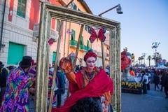 Il carnevale di Viareggio, edizione 2019 fotografia stock libera da diritti