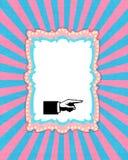 Il carnevale invitano ed il fondo dell'album per ritagli fotografie stock libere da diritti