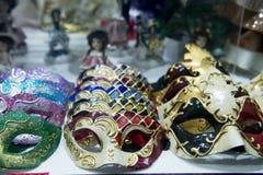 Il carnevale maschera Venezia Fotografia Stock Libera da Diritti