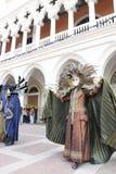 Il Carnevale veneziano 2013 Fotografie Stock Libere da Diritti