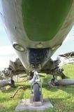 Il carrello di atterraggio di un Sukhoi Su-17 Fotografia Stock Libera da Diritti