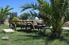 Il carretto del villaggio dray wain fotografie stock