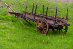 Il carretto nella natura Fotografia Stock