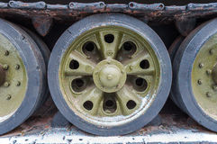 Il carro armato spinge il verde Fotografia Stock Libera da Diritti