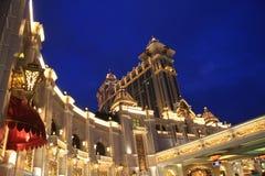 Il casinò della galassia in Macao fotografia stock libera da diritti