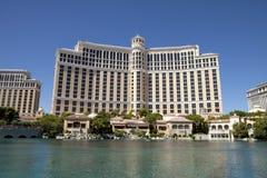 Il casinò e l'hotel di Bellagio a Las Vegas, Nevada Immagini Stock Libere da Diritti