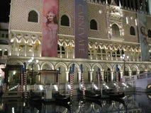 Il casinò veneziano dell'hotel di località di soggiorno a Las Vegas Immagini Stock