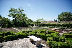 Il castel di Queen Mary, Balchik, Bulgaria immagini stock