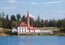 Il castello Fotografie Stock
