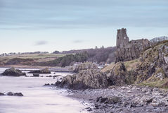Il castello antico di Dunure Scozia Immagini Stock