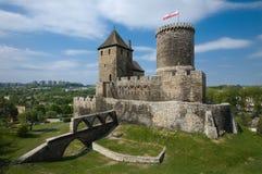 Il castello in Bedzin, Polonia Fotografie Stock Libere da Diritti