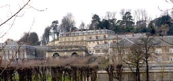 Il castello de Saint-Cloud Fotografie Stock Libere da Diritti