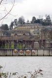 Il castello de Saint-Cloud Fotografia Stock