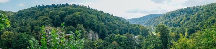 Il castello dei padri di Ojcowie Immagine Stock