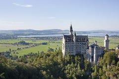 Castello del Neuschwanstein Fotografia Stock