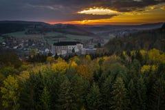 Il castello del ternberk del ½Å di ÄŒeskà è un castello della Boemia della metà del XIII secolo fotografie stock