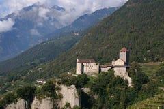 Il castello del Tirolo nel Tirolo del sud, Italia Immagine Stock Libera da Diritti
