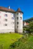 Il castello dell'acqua di Glatt Immagine Stock