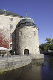 Il castello di Ãrebro Immagine Stock