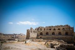 Il castello di Al Karak, Giordania immagini stock libere da diritti