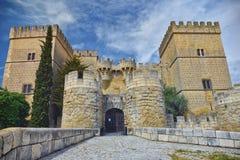 Il castello di Ampudia Fotografie Stock Libere da Diritti