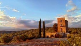 Il castello di Besora Fotografia Stock