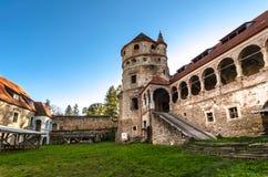 Il castello di Bethlen, Cris, Romania fotografia stock