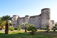 Il castello di Catania Immagine Stock