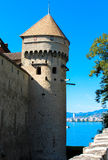 Il castello di Chillon Immagine Stock Libera da Diritti