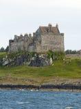 Il castello di Duart sull'isola di sciupa Fotografia Stock Libera da Diritti